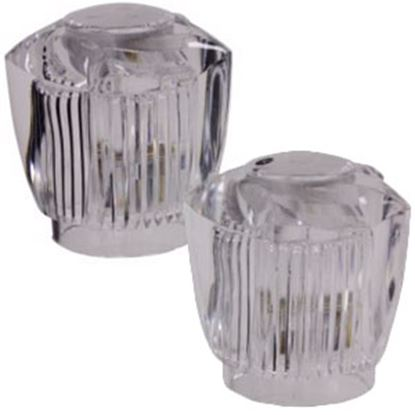 Picture of Phoenix Faucets  2-Pack Clear Acrylic Knob Style Faucet Handle PF284006 86-8916