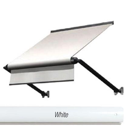 Picture of Lippert Solera Window Awning Hardware Standard White V000334754 90-2140
