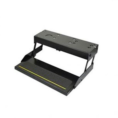 """Picture of Kwikee Series 28 23.75"""" x 10"""" Single Electric Entry Step 3747452 94-1447"""