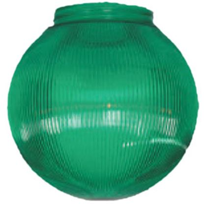 Picture of Polymer Products  Green Prismatic Party Light Globe 3262-51630 95-5212