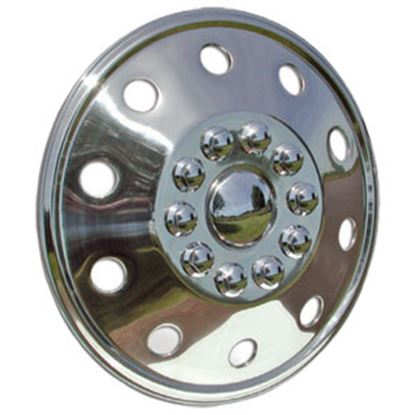 """Picture of Wheel Masters  Single 19-1/2"""" 10-Lug Wheel Cover  98-1132"""